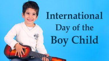 When is International Day of Boy Child? Know The Date of Celebration Dedicated to Honouring Male Children
