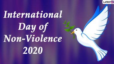 International Day of Non-Violence 2020 Quotes & HD Images: Thoughtful Messages And Greetings on Peace And Harmony to Share on Mahatma Gandhi's 151st Birth Anniversary