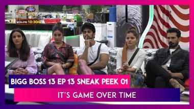 Bigg Boss 14 Episode 13 Sneak Peek 01|Oct 20 2020: It's Game Over Time