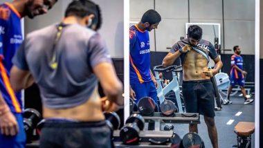Jasprit Bumrah Flaunts Rock-Hard Abs Ahead of MI vs DC Match in Dream11 IPL 2020 (View Post)