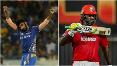 MI vs KXIP IPL 2020 Dream11 Team: Jasprit Bumrah, Chris Gayle and Other Key Players You Must Pick in Your Fantasy Playing XI