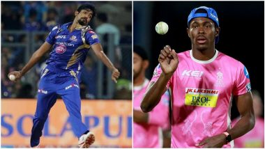 Jofra Archer Imitates Jasprit Bumrah's Bowling Action Ahead of RR vs MI IPL 2020 Match (Watch Video)