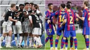 Juventus vs Barcelona Head-to-Head Record: Ahead of UEFA Champions League 2020–21 Group G Clash, Here Are Match Results of Last 5 JUV vs BAR Football Games