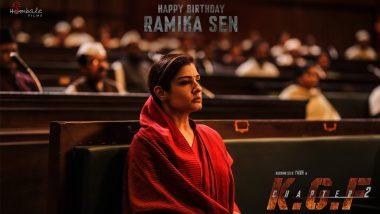 KGF Chapter 2 Makers Share Raveena Tandon's Look As Ramika Sen On Her Birthday!