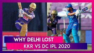 Kolkata vs Delhi IPL 2020: 3 Reasons Why Delhi Lost To Kolkata