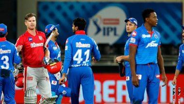 KXIP vs DC Stat Highlights IPL 2020: Shikhar Dhawan's Record Century and Other Key Points from Kings XI Punjab vs Delhi Capitals Match