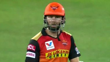 Kane Williamson Loses Cool on Priyam Garg After Getting Run Out During CSK vs SRH IPL 2020 Match, Shocked Fans React With Funny Memes