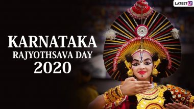 Karnataka Rajyotsava 2020 HD Images And Wishes: WhatsApp Stickers, Facebook Greetings, Wallpapers, Instagram Stories, Messages And  GIFs to Send on the Observance