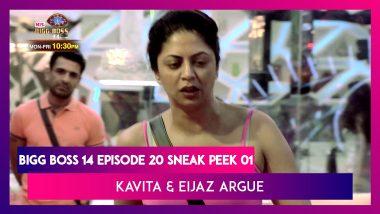 Bigg Boss 14 Episode 20 Sneak Peek 01 | Oct 29 2020: Kavita Slams Eijaz For Calling Her a Friend