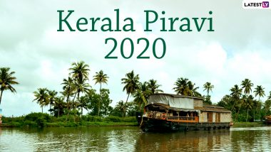 Kerala Piravi 2020 Images & HD Wallpapers For Free Download Online: Wish Happy Kerala Day 2020 With Beautiful WhatsApp Stickers, GIF Greetings and Messages on State Formation Day