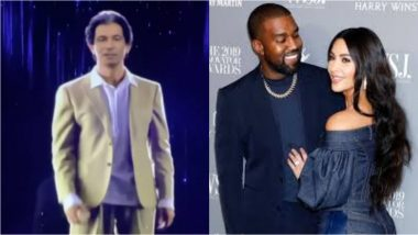 Kim Kardashian Gets a Hologram of Her Late Father for Her 40th Birthday, Courtesy Hubby Kanye West (Watch Video)