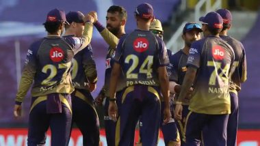 How to Watch KKR vs KXIP IPL 2020 Live Streaming Online in India? Get Free Live Telecast Kolkata Knight Riders vs Kings XI Punjab Dream11 Indian Premier League 13 Cricket Match Score Updates on TV