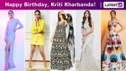 Kriti Kharbanda Birthday Special: Bright Like Glitter, Versatile Chic and Always Smiling, This Is How She Rolls!
