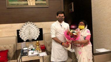 Bihar Assembly Elections 2020: BJP's Usha Vidyarthi Joins LJP in Chirag Paswan's Presence