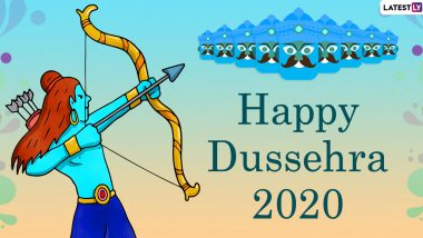 On Dussehra 2020, Know The Story of Ravan Dahan: How Lord Rama Killed The Ten-Headed Demon King of Lanka After a Crucial Secret Revealed by Vibhishana