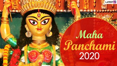 Maha Panchami 2020 Date & Significance: Know More About Bilva Nimantran, Kalparambha, Akal Bodhon, Amantran and Adhivas Rituals During Durga Puja