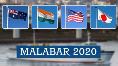 Malabar 2020: Australia Will Join India, Japan and US in the Naval Exercise, Says Defence Ministry