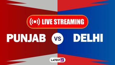 PBKS vs DC, IPL 2021 Live Cricket Streaming: Watch Free Telecast of Punjab Kings vs Delhi Capitals on Star Sports and Disney+Hotstar Online