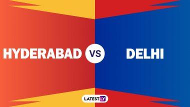 DC 78/5 in 11.3 Overs (Target 220) | SRH vs DC Live Score Updates Dream11 IPL 2020: Shreyas Iyer's Departure Puts SRH On Verge of Victory