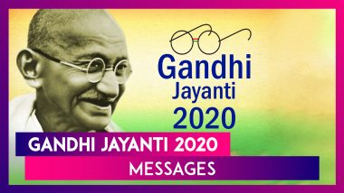 Happy Gandhi Jayanti 2020 Messages: WhatsApp Wishes and Greetings to Celebrate the National Festival