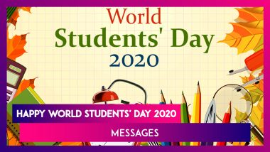 Happy World Students' Day 2020 Messages & Images to Mark APJ Abdul Kalam's Birth Anniversary
