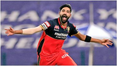 Mohammed Siraj Leaves KKR Rattling After Fiery Spell in KKR vs RCB IPL 2020 Match, Twitterati Praise Royal Challengers Bangalore Pacer With Funny Memes