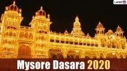 Mysore Dasara 2020 Dates And Vijaya Muhurat: Traditions And Celebrations Related to Mysuru Dussehra Held During Navratri