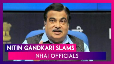 Nitin Gadkari Slams NHAI Officials, Calls Bureaucracy 'Nalayak', 'Nikammi' At Opening Ceremony Of NHAI Building In Delhi
