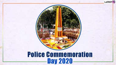 National Police Commemoration Day 2020 HD Images, Quotes, Wallpapers And Photos to Remember The Sacrifices of CRPF Officers in Ladakh