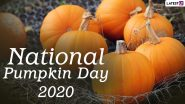 National Pumpkin Day 2020 Date And Significance: Know The History of the Observance That Celebrates People's Favourite Autumn Food & Decoration
