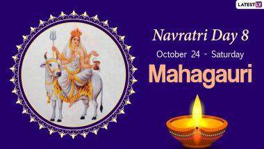 Navratri 2020 Mahagauri Puja: Know The Colour and Goddess of Day 8 to Worship the Eighth Avatar of Maa Durga This Sharad Navaratri