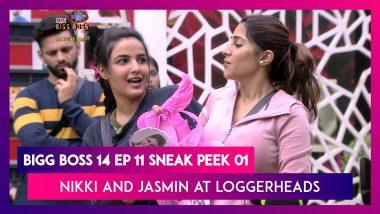 Bigg Boss 14 Episode 11 Sneak Peek 01| Oct 16 2020: Nikki And Jasmin At Loggerheads