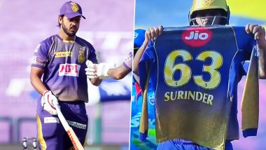 Nitish Rana Pays Heart-Warming Tribute to His Late Father-in-Law Surinder Marwah After Scoring Half-Century During KKR vs DC Clash in IPL 2020