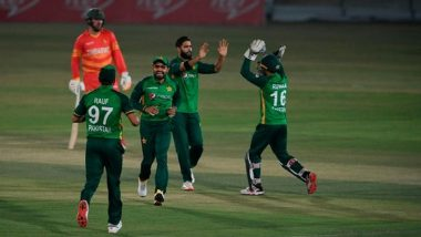 PAK vs ZIM 1st ODI 2020: Shaheen Afridi, Wahab Riaz Shine in Pakistan's 26-Run Win Over Zimbabwe