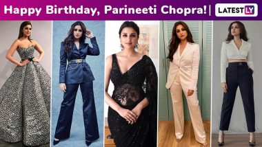 Parineeti Chopra Birthday Special: The Sunshine Girl's Effervescent Styles, From Being Dressy Chic to Oozing Eloquent Elegance!