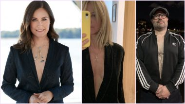 Finland PM Sanna Marin in Low-Neck Jacket For Trendi Magazine Cover Gets Criticised by Moral Police, People Trend #SupportSanna by Posting Pics in Similar Attire