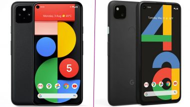 Google Pixel 5, Pixel 4a 5G Smartphones Launched; Prices, Features & Specifications