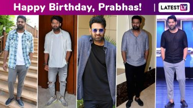 Prabhas Birthday Special: A Peek at His Signature Nonchalant Casual Suave Style Streak!