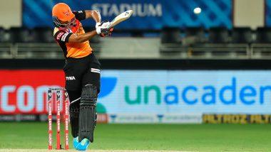 Priyam Garg Unleashes Mayhem Against Chennai Super Kings to Register His Maiden IPL Fifty, Twitterati Heap Praises on Sunrisers Hyderabad Youngster