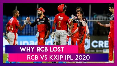 Bangalore vs Punjab IPL 2020: 3 Reasons Why Bangalore Lost To Punjab