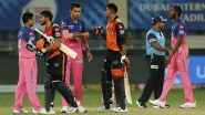 RR vs SRH Stat Highlights: Manish Pandey, Vijay Shankar's Fine Partnership Helps Sunrisers Hyderabad Win by 8 Wickets