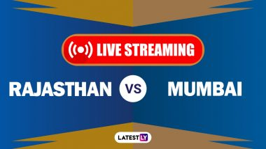 RR vs MI IPL 2020 Live Cricket Streaming: Watch Free Telecast of Rajasthan Royals vs Mumbai Indians
