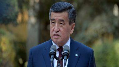 Kyrgyzstan's President Sooronbay Jeenbekov Steps Down Amid Political Unrest