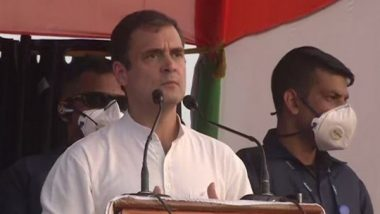 Bihar Assembly Elections 2020: Small Shopkeepers, Youths, Farmers Angry with PM Narendra Modi and Nitish Kumar, Says Congress Leader Rahul Gandhi