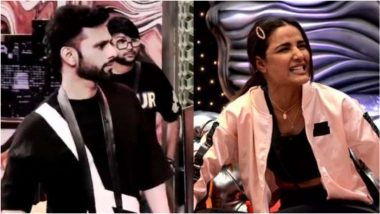 Bigg Boss 14: Netizens Extend Support to Rahul Vaidya Over Jasmin Bhasin, Blames The Latter For Playing the 'Woman Card'