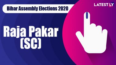 Raja Pakar (SC) Vidhan Sabha Seat in Bihar Assembly Elections 2020: Candidates, MLA, Schedule And Result Date