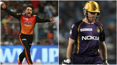 SRH vs KKR IPL 2020 Dream11 Team: Eoin Morgan, Rashid Khan and Other Key Players You Must Pick in Your Fantasy Playing XI