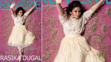 Rasika Dugal Is Celebrating a Tale of Passion As Reverie Magazine's Cover Girl!
