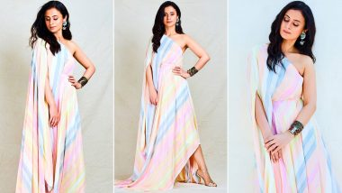 Rasika Dugal Has That Candy Striped Summertime Chicness Working Perfectly for E-Promotions of Mirzapur 2!