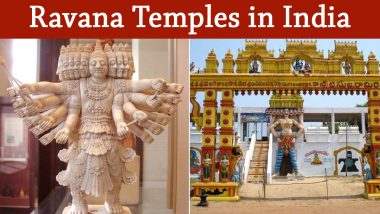 No Happy Dussehra 2020 in These Ravana Temples in India! Learn More About The Places of Worship That Venerate The Lankan King and Don't Celebrate Vijayadashami